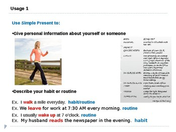 Grade 6: Grammar/ Present Simple