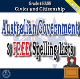 Grade 6 HASS – FREE Spelling List - Australian Government