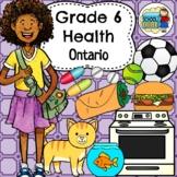 Grade 6 Health Ontario Curriculum 2018 Updated