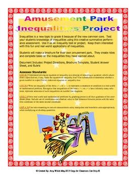 Grade 6 Inequality Project Assessment  Make an Amusement P