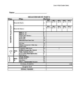 Grade 6 JUMP ME Part 1 Layered Curriculum Chapter Sheet