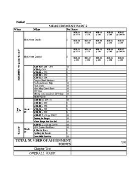 Grade 6 JUMP ME Part 2 Layered Curriculum Chapter Sheet