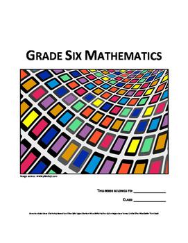 Grade 6 Math Anchor Charts