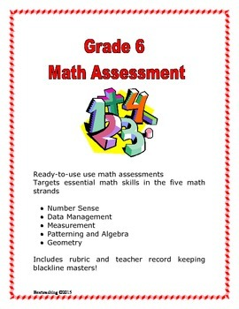 Grade 6 Math Assessment