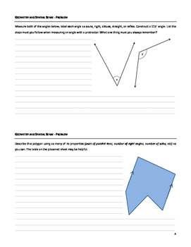 Grade 6 Math: Geometry and Spatial Sense