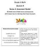 Grade 6, Math Module 4 REVIEW & ASSESSMENT w/Ans keys (pri