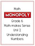 Grade 6 Math Monopoly Unit 2