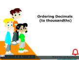 Grade 6: Math: Ordering Decimals Concept Capsule