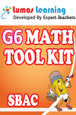 Grade 6 Math Tool Kit for Educators, SBAC Edition