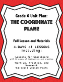 The Coordinate Plane: Grade 6 Unit Plan