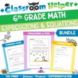 Grade 6 Math - Expressions and Equations