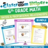 Grade 6 Math - Ratios and Proportional Relationships