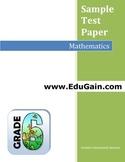 Grade 6 Maths Sample Test Paper