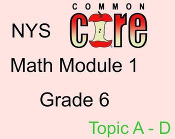 Grade 6 Module 1 lessons 5-29