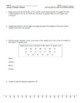 Grade 6 Module 6 Review Packet (5 pages of original questions)