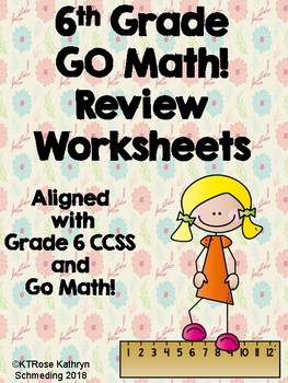 Grade 6 Morning Math-Aligned with GO Math! and CCSS