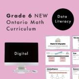 Grade 6 NEW Ontario Math - Data Literacy Digital Slides