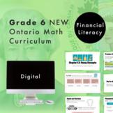 Grade 6 NEW Ontario Math - Financial Literacy Digital Slides