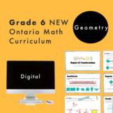 Grade 6 NEW Ontario Math Curriculum - Geometry