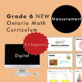 Grade 6 NEW Ontario Math - Measurement Digital Slides