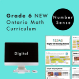 Grade 6 NEW Ontario Math Curriculum - Place Value Digital Slides