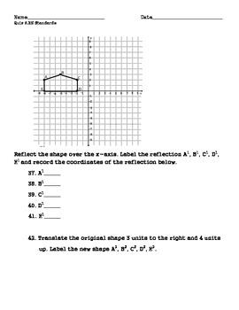 Grade 6 Number System Standards Quiz