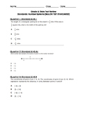 Grade 6 - Number System State Exam Questions WITH ANSWERS