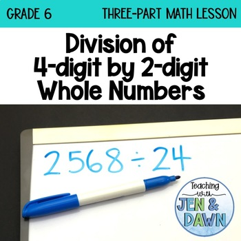 Grade 6 Ontario Math Three Part Lesson Division