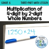 Grade 6 Ontario Math Three Part Lesson Multiplication 1