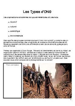 (En Francais) Grade 6 Ontario Social Studies - Canada and NGOs Unit 1