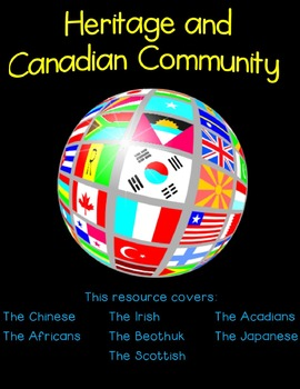 Gr. 6 Ontario Social Studies - Heritage and Canadian Community (Strand A)