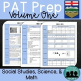 Grade 6 PAT Prep-Volume 1