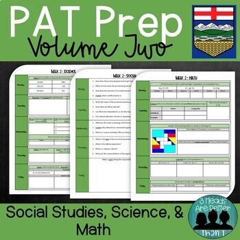 Grade 6 PAT Prep-Volume 2