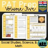 Grade 6 PAT Prep-Volume 5