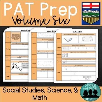 Grade 6 PAT Prep-Volume 6