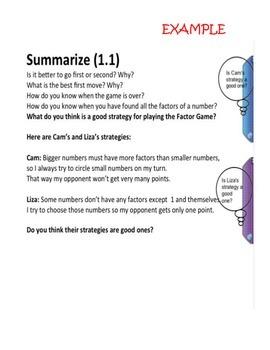 Prime Time CMP2 Smart Board Slides Grade 6