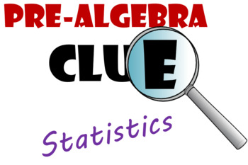 Grade 6 Probability and Statistics Clue Review Game