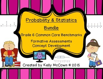 Grade 6 Probability & Statistics Bundle