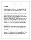 Grade 6 Report Card Comments (Term 2)