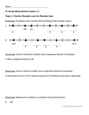 Grade 6 Review: Positive & Negative Integers (based on Mat