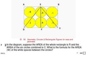 Grade 6: STEM problems (4 sets of 8, 6, 4 & 2 problems per skill)