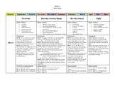 Grade 6 Saskatchewan Year Plans