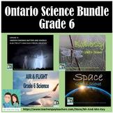 Grade 6 Science Bundle - Ontario