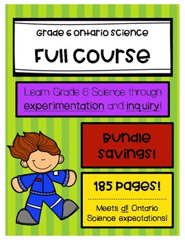 Grade 6 Science - Ontario - Full Course (4 units)
