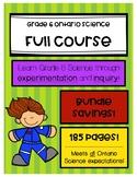 Grade 6 Science - Ontario - Full Course (4 units)