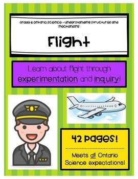 Grade 6 Science - Ontario - Structures and Mechanisms - Flight