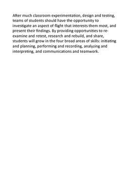 Grade 6 Science - Principles of Flight