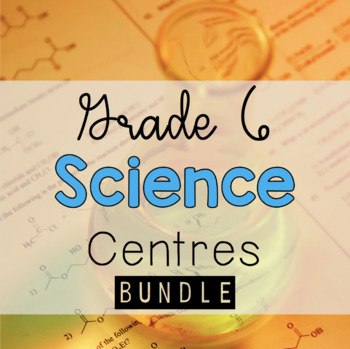 Grade 6 Science and Me Bundle
