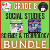 Ontario Grade 6 Science and Social Studies Super Bundle