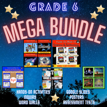 Grade 6 Science and Technology Centres Bundle